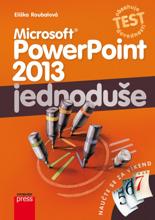 Obálka knihy Microsoft PowerPoint 2013
