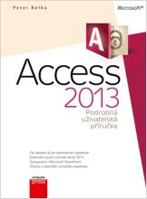 Obálka knihy Microsoft Access 2013