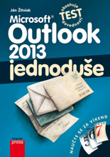Obálka knihy Microsoft Outlook 2013
