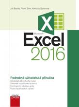 Obálka knihy Microsoft Excel 2016
