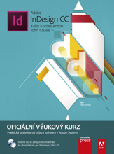 Obálka knihy Adobe InDesign CC