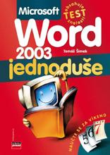 Obálka knihy Microsoft Office Word 2003