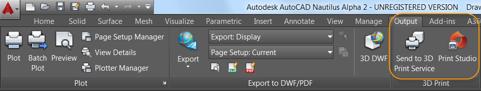 AutoCAD 2017 - 3D tisk