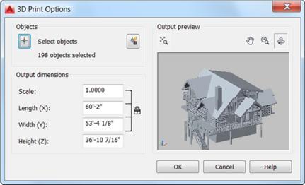 AutoCAD 2017 - nastavení pro 3D tisk