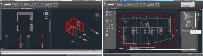 Ukázka z programu AutoCAD Architecture