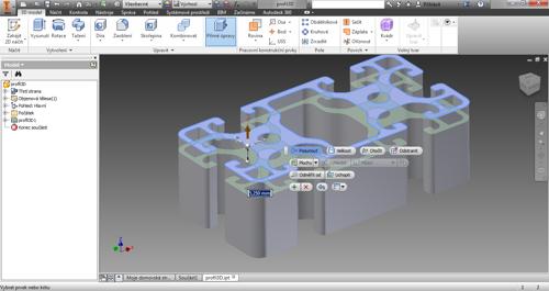 Funkce Přímé úpravy vAutodesk Inventor 2015