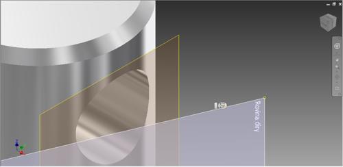 Pojmenování roviny vAutodesk Inventor 2015