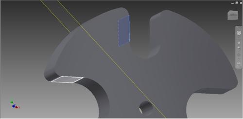 Vytvoření roviny mezi dvě neparaelní plochy vAutodesk Inventor 2015