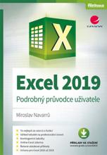 Obálka knihy Excel 2019